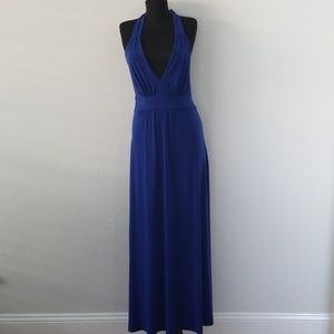 Boston Proper Royal Blue Maxi Size 4